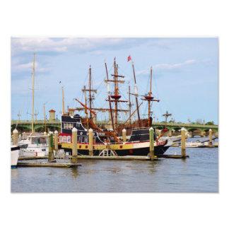 St Augustine Pirate Ship Photo Print