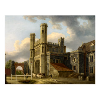 St Augustine's Gate Canterbury England Postcard