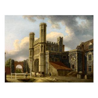 St Augustine's Gate Canterbury England Postcard