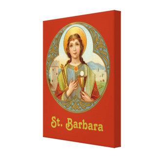 "St. Barbara (BK 001) 16""x20""x1.5"" Canvas Print"