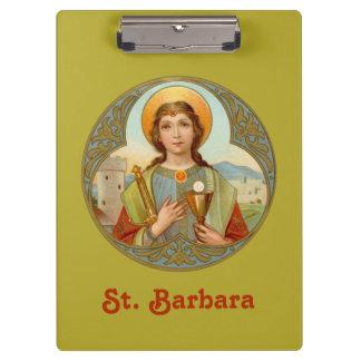 St. Barbara (BK 001) Clipboard
