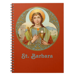 St. Barbara (BK 001) Notebook
