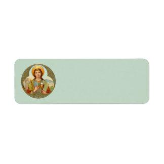 St. Barbara (BK 001) Return Address Label