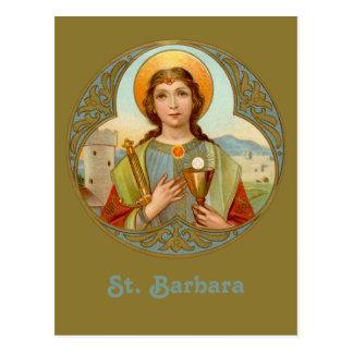 St. Barbara (BK 001) Vertical Postcard