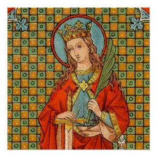 "St. Barbara (JP 01) 20""x20"" Poster #1"
