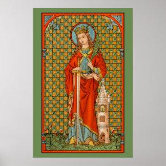 "St. Barbara (JP 01) 24""x36"" Poster #2"