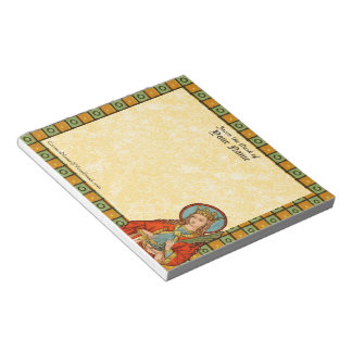 "St. Barbara (JP 01) 5.5""x6"" Horizontal Notepad"