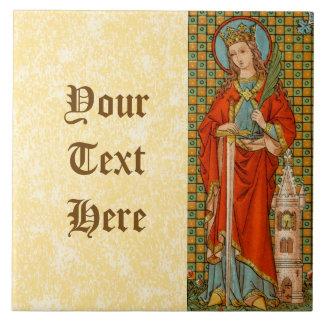 St. Barbara (JP 01) Ceramic Tile #2