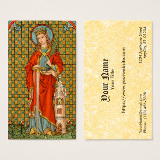 St. Barbara (JP 01) FB Standard Business Card