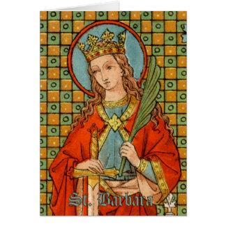 St. Barbara (JP 01) Greeting Card #1