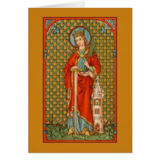 St. Barbara (JP 01) Greeting Card #2