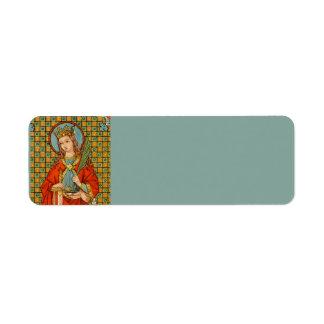 St. Barbara (JP 01) Return Address Label