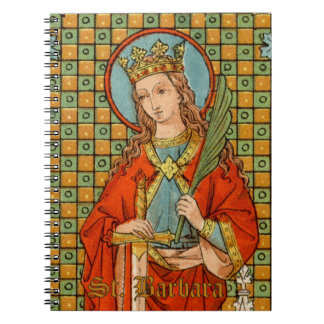 St. Barbara  (JP 01) (Style #1) Notebook