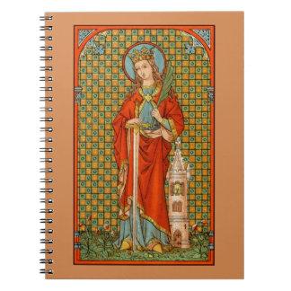 St. Barbara (JP 01)  (Style #2) Notebooks