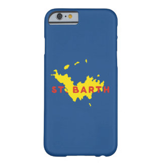 St. Barth Silhouette Barely There iPhone 6 Case