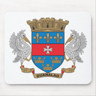 St. Barthelemy Coat of Arms Mouse Pad