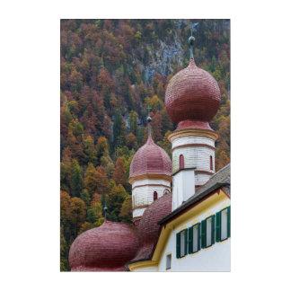 St. Bartholoma Chapel, Bavaria Acrylic Wall Art