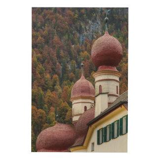 St. Bartholoma Chapel, Bavaria Wood Print