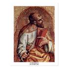 St. Bartholomew, By Crivelli Carlo Postcard