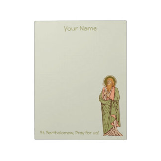 "St. Bartholomew the Apostle (RLS 03) 8.5""x11"" Notepad"