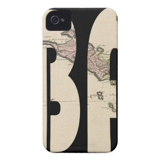 St. Barts 1801 iPhone 4 Cover