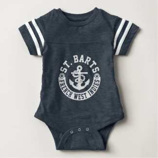 St. Barts French West Indies Baby Bodysuit