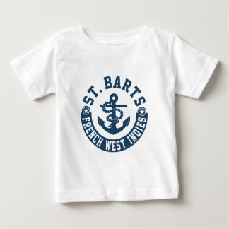 St. Barts French West Indies Baby T-Shirt