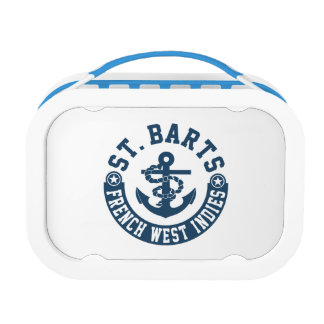 St. Barts French West Indies Lunch Box