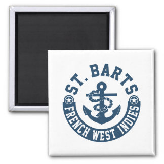 St. Barts French West Indies Magnet