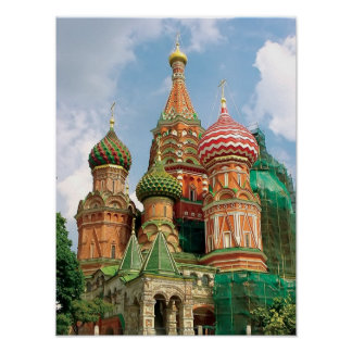 St.Basil Cathedral Poster