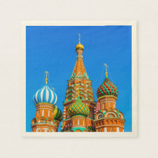 St. Basil's cathedral Disposable Serviette