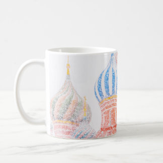 St Basil's Cathedral In Snowstorm Coffee Mug