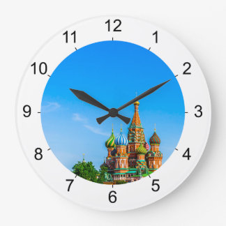 St. Basil's cathedral Large Clock