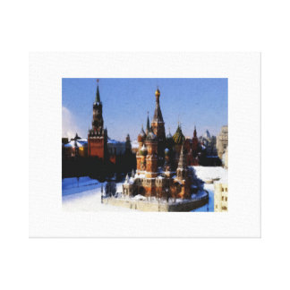 St Basil's Moscow Canvas Print