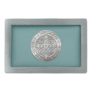 St Benedict Cross Medal Belt Buckles