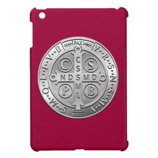 St Benedict Cross Medal iPad Mini Cases