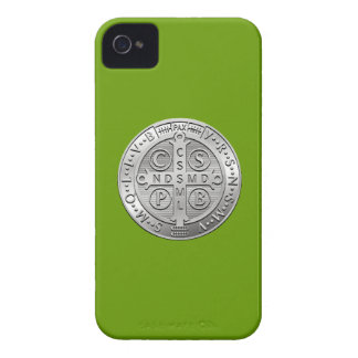 St Benedict Cross Medal iPhone 4 Cover