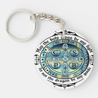 St Benedict Medal Keychain