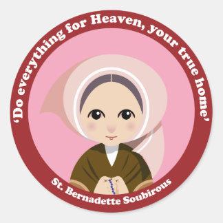 St. Bernadette Soubirous Sticker