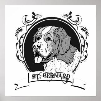 ST. BERNARD (2) PRINT