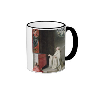 St. Bernard and the Virgin Mugs