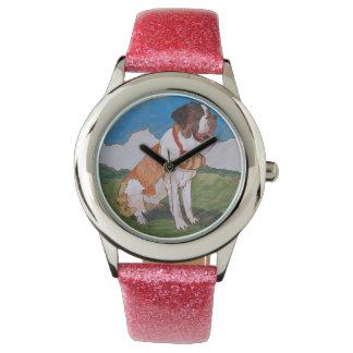 St. Bernard clocks Watch