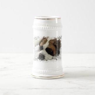 St Bernard Dog Beer Stein Coffee Mugs