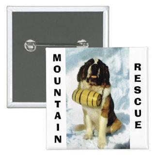 St Bernard dog, Mountain Rescue Pins