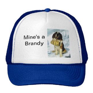 St Bernard dog, Mountain Rescue Cap