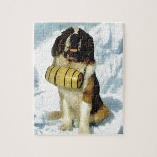St Bernard dog, Mountain Rescue Puzzles