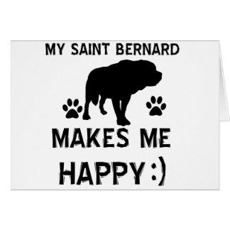 St Bernard gift items Greeting Cards