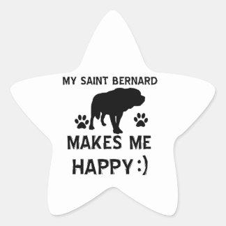 St Bernard gift items Stickers