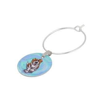 St. Bernard Gifts & Accessories Wine Glass Charm