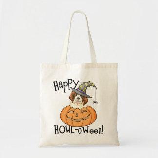 St. Bernard Halloween Budget Tote Bag